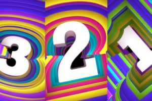 Colorful Animated Countdown in Cinema 4D