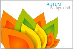 Background Autumn in CorelDRAW
