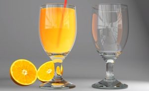 Realistic Glass Juce with VRay in 3ds Max