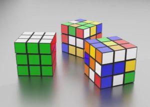 model Rubik Cube in Blender