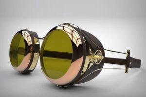 Model Steampunk Goggles in Maya