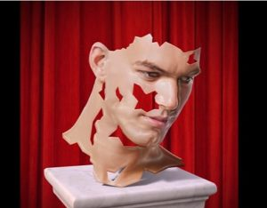 Transform a Photo into a Sculpture Bust in Photoshop