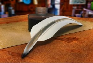 Quill and Ink Set in Autodesk Maya