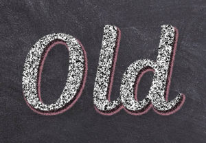 Create a Chalk Text Effect in Photoshop