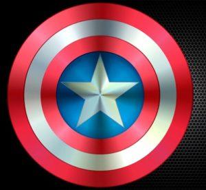 Draw a Captain America Shield in CorelDRAW
