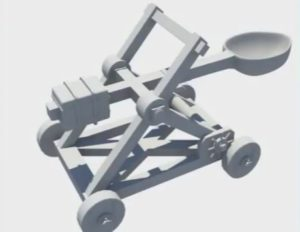Model a Medieval Catapult in Maya
