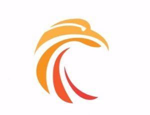 Simple Circle Bird Logo in Illustrator