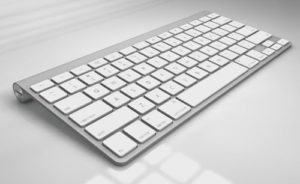 Modelling Apple Keyboard in Cinema 4D