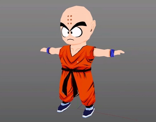 modeling dragonball character in cinema 4D