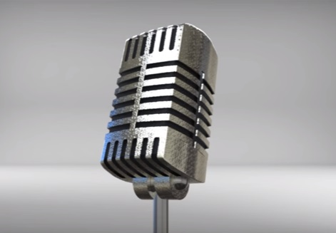 Model a Classic Microphone in Maya