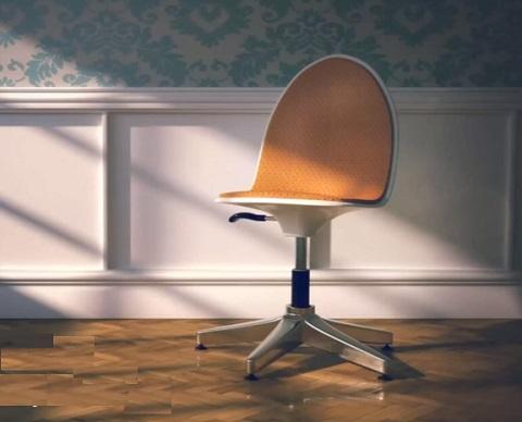 Modeling Office Chair in Cinema 4D