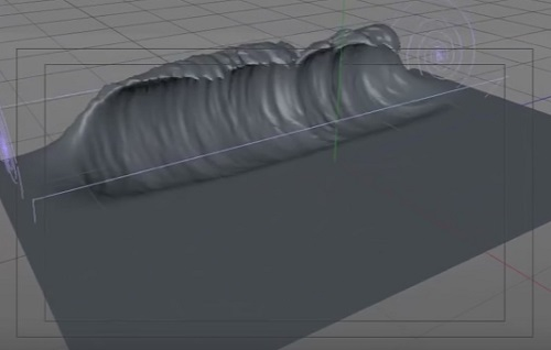 Realistic Wave with Wave Deformer in Cinema 4D