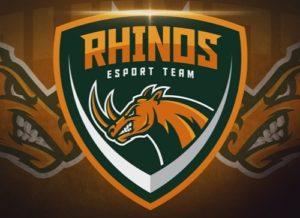 Draw E Sports Rhinos Logo in Illustrator