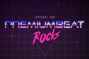 Rock Music 80s Logo in After Effects