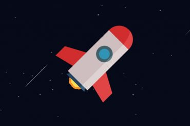 Rocket in Space with After Effects