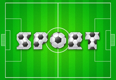 Create a Soccer Text Effect in Illustrator