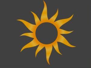 Create Sun Shape in 3ds Max
