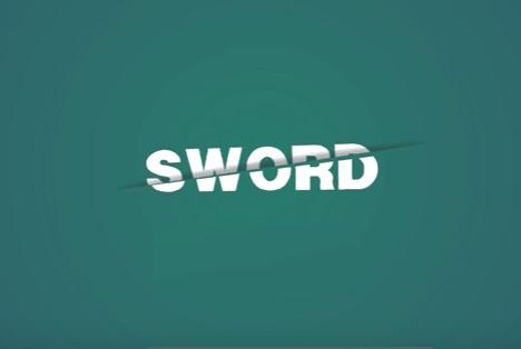 Sword Blade Cutting Effect in CorelDRAW