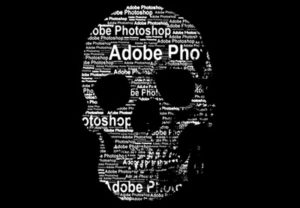 text Portrait in Photoshop