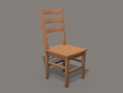 Modeling a Basic Wooden Chair in Cinema 4D