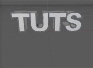 Create Bevel Text with Sweep Nurbs in Cinema 4D