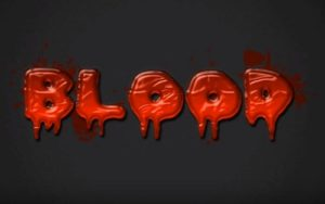 Create Blood Text Effect in Adobe Photoshop
