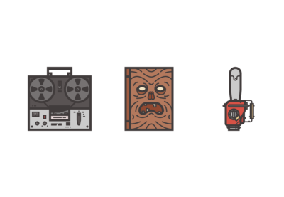 Draw an Evil Dead Themed Icon in Illustrator