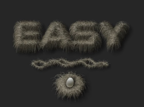 Create Hair Text Animation in After Effects