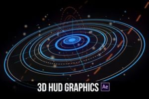 Create Advanced 3D HUD Motion Graphics in After Effects