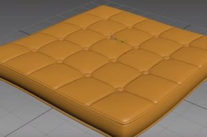 Modeling Detailled Mattress in Autodesk 3ds Max