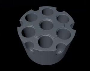 Modeling Revolve Cylinder in Cinema 4D