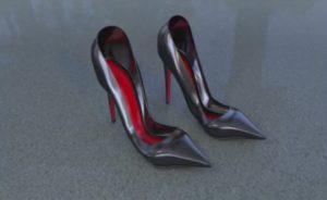 Modeling a Women's Shoes in Cinema 4D
