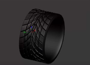 Fast and Easy Modeling of a Tire in 3ds Max