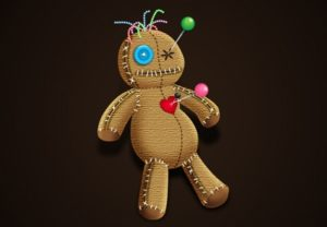 Draw a Spooky Voodoo Doll in Illustrator