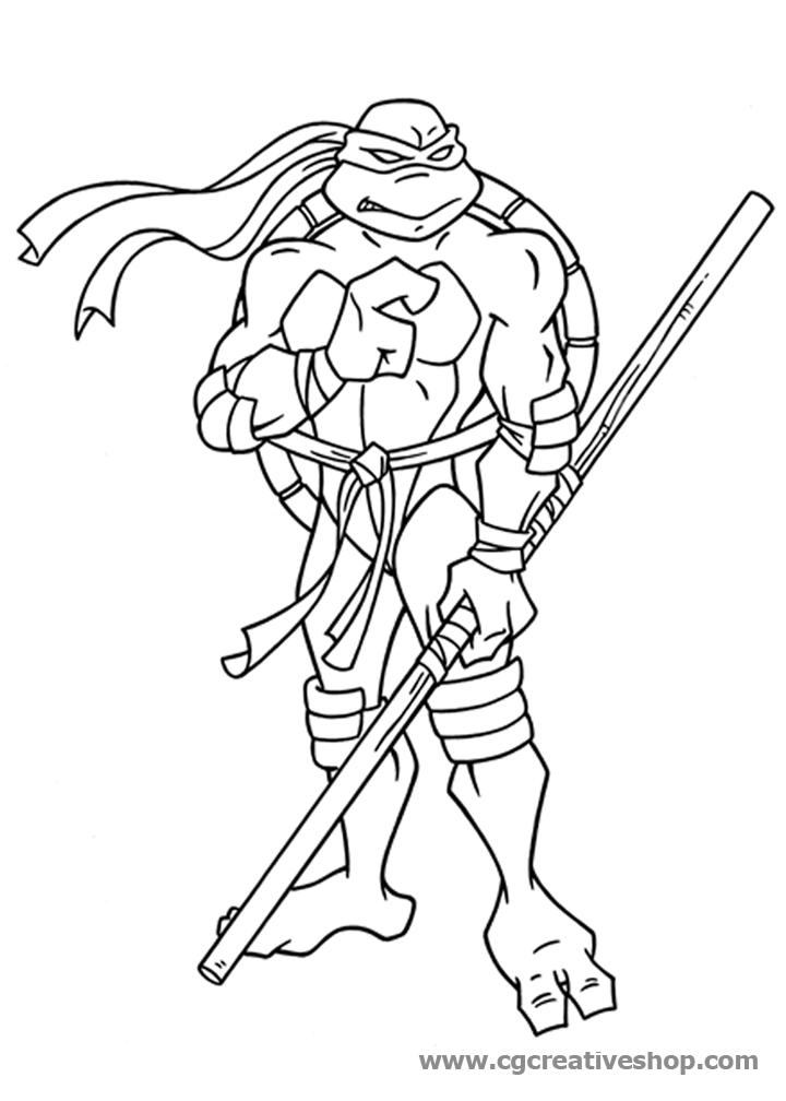 Immagini Delle Tartarughe Ninja Da Colorare.Donatello Archives Cgcreativeshop