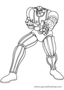 Jeeg Robot d'Acciaio, disegno da colorare