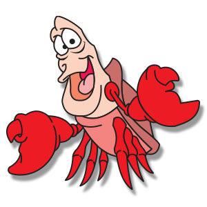 Sebastiant The Crab - Free Vector Download