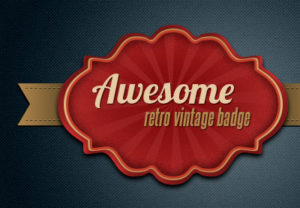 Draw a Retro Vintage Badge in Photoshop