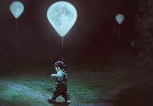 Create a Surreal Moon Balloons Scene in Photoshop