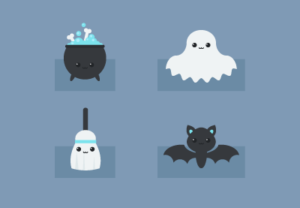 Draw a Set of Kawaii Halloween Icons in Illustrator