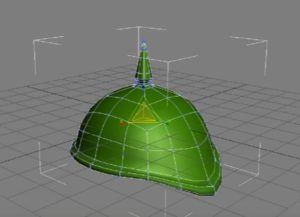 Modelling a German Helmet Extended in 3ds Max