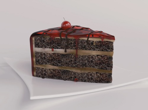 Modeling a Greedy Piece of Cake in 3ds Max