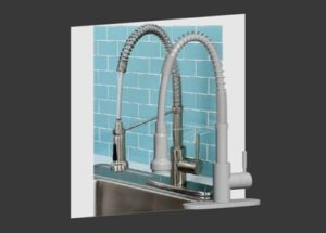Kitchen Faucet in 3ds Max