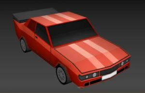 Modeling a Simple Low Poly Car in 3ds Max