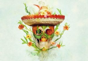 Create a Floral Sugar Skull with Adobe Photoshop