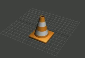 Modelling a Simple Traffic Cone in 3ds Max