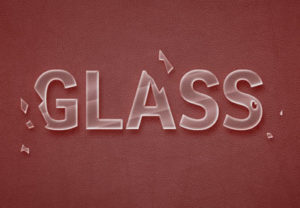 Create a Quick Broken Glass Text in Photoshop