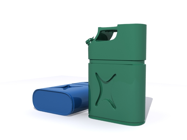 Jerrycan Free 3D object download