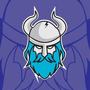 Head Viking Free Vector Logo download