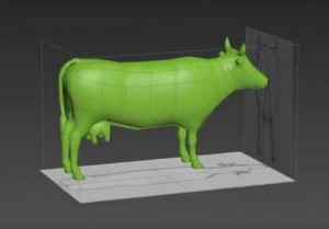 Modeling a Cow in Autodesk 3d Studio Max
